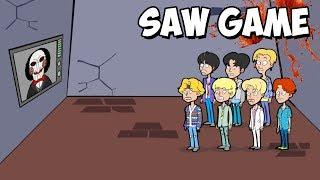 BTS HAN SIDO SECUESTRADOS !! | BTS Saw Game Trailer
