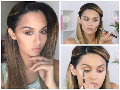 Fresh Glowing Makeup Tutorial l Christen Dominique thumbnail