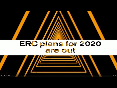Learn about the ERC Grant Competitions 2020 in the ERC webinar