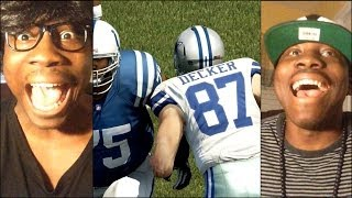 Madden 25 Ultimate Team Xbox One Gameplay - FaceCam QJB vs Rage Quitter Dual Comm