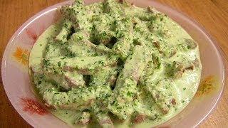 Говядина в соусе Цахтон - видео рецепт