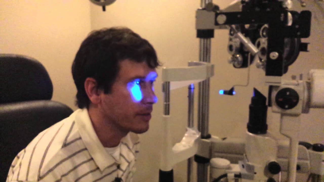 Eye test video youtube