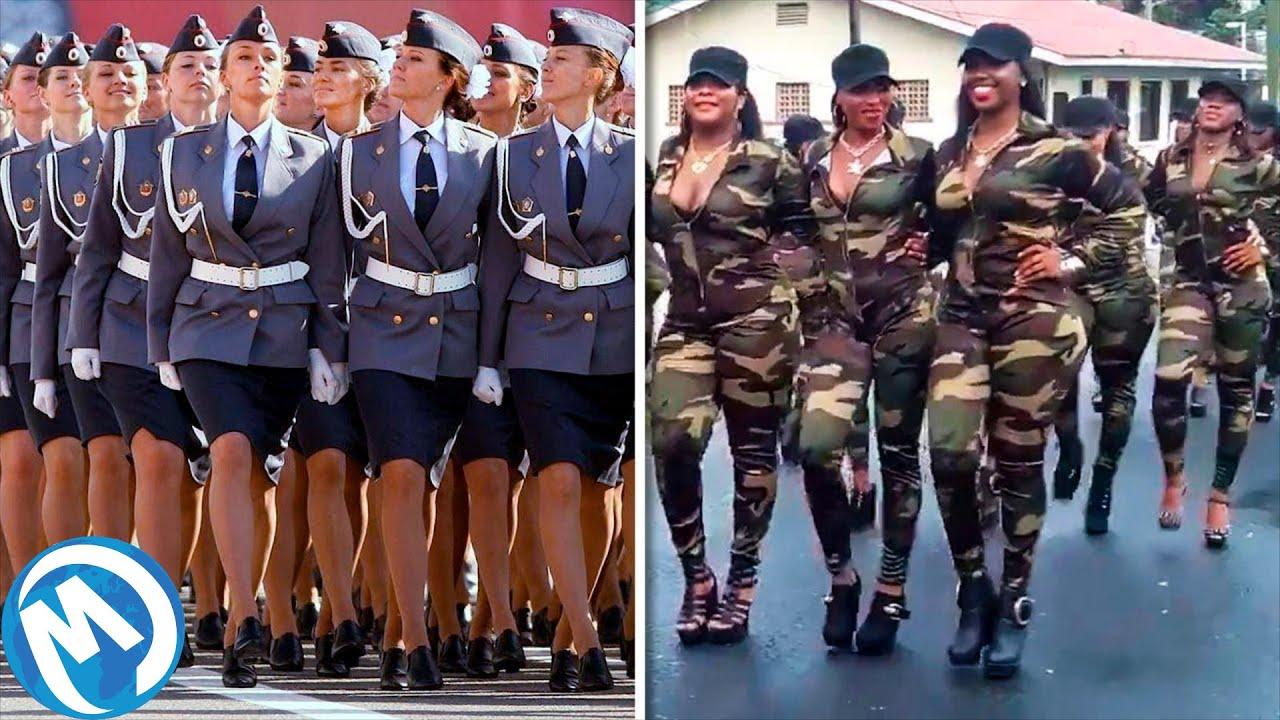 As Mais Belas Forças Armadas Femininas Do Mundo