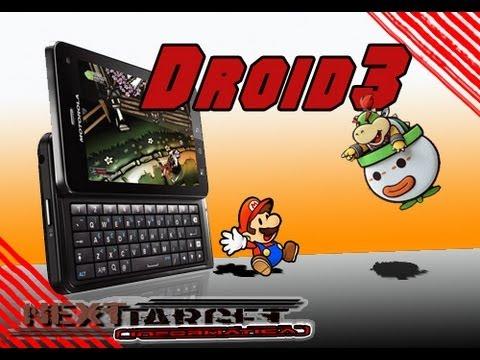 Next Target - Review MilesTone 3 ou Droid 3 - APPS