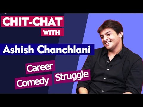 Exclusive Chit Chat With Youtuber Ashish Chanchlani | Comedy | Struggle | Career