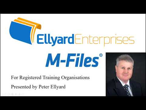 New M Files for Registered Training Organisations