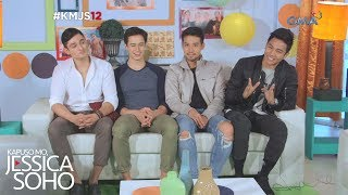 Kapuso Mo, Jessica Soho: Kilalanin ang JEYA boys ng 'Meant to Be!'