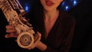 ASMR Wooden Toy Shop 🥁 Soft Spoken Roleplay