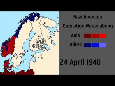 Operation Weserübung - Nazi Invasion of Denmark and Norway