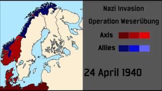 Operation Weserübung - Nazi Invasion of Denmark and Norway
