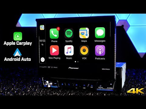 Pioneer AVH-3300NEX - First Ever Single DIN Radio with Apple Carplay and Android Auto!!!