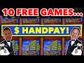 HANDPDAY AFTER 10 FREE GAMES on High Limit 88 Fortunes @ $26.40 a Spin! @ Hard Rock Tampa