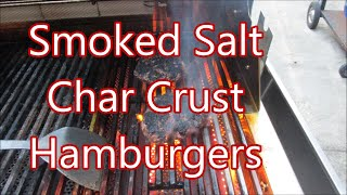 Perfect Char Grilled Burgers