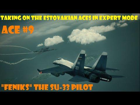 """Ace Combat 6: Ace No 9 """"FENIKS"""" The Su-33 Pilot"""