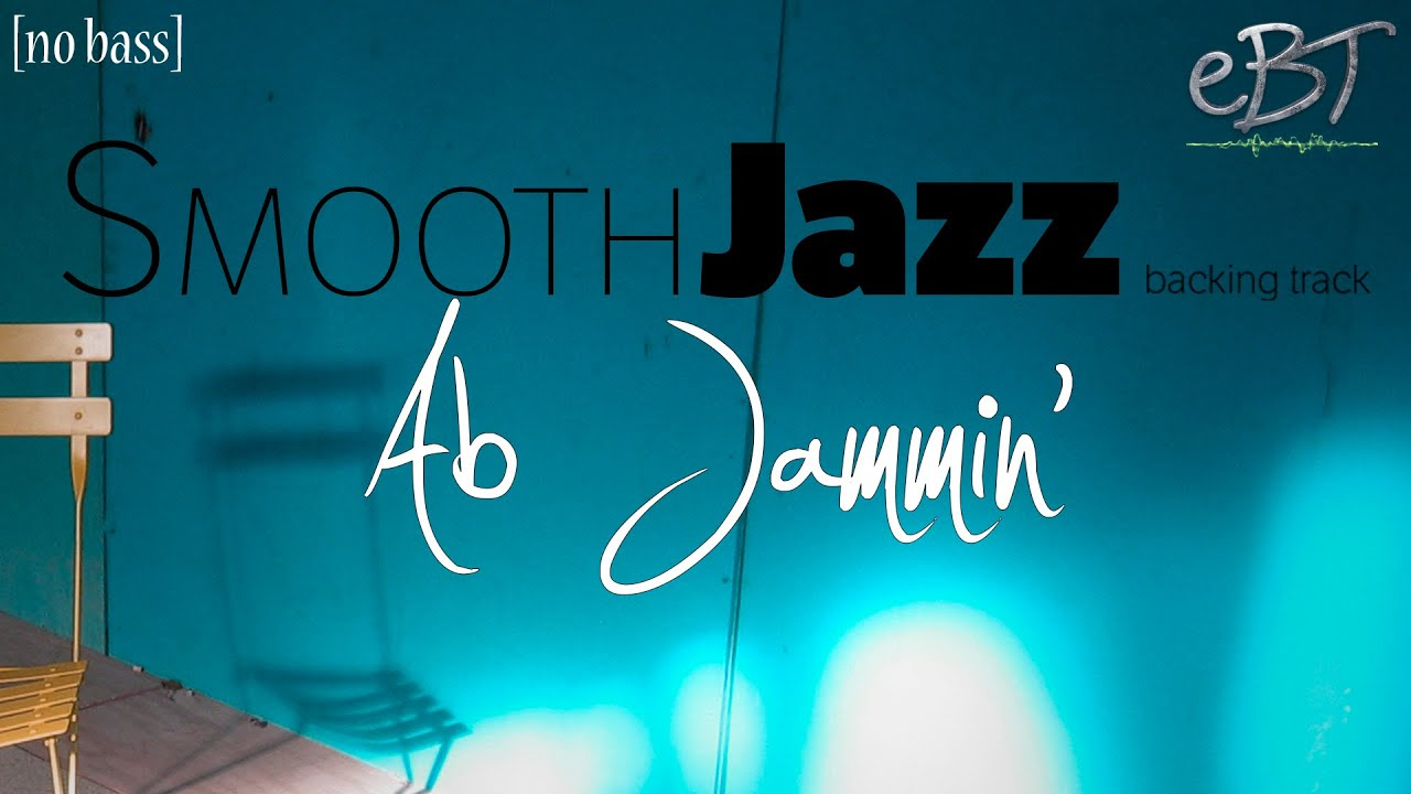 Smooth Jazz Backing Track in Ab Minor | 90 bpm [NO BASS]