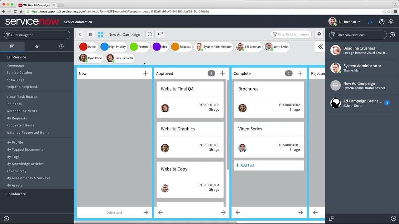 Connect Chat | ServiceNow Docs