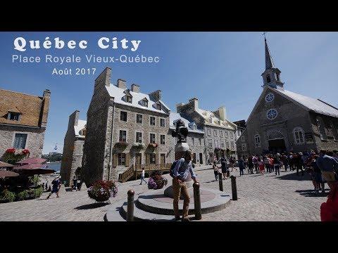 Lumix GH5 Québec City (Place Royale) Vieux- Québec 2017