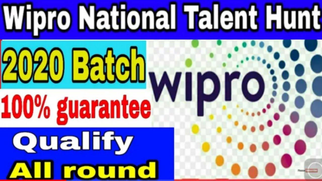 How to clear wipro online exam 2019 batch || crack wipro exam | qualify  wipro exam 2019 | InfraMind