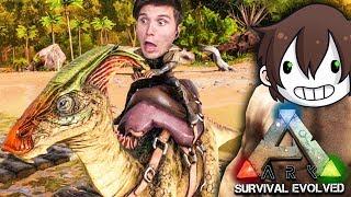 Ich reite meinen erṡten DINOSAURIER ☆ ARK: Survival Evolved #09