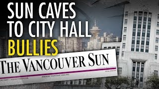 Did Vancouver City Hall force Vancouver Sun to retract a story?