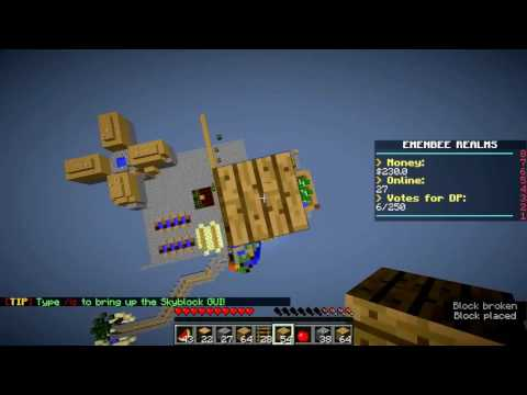Minecraft Skyblock | Money Wasted