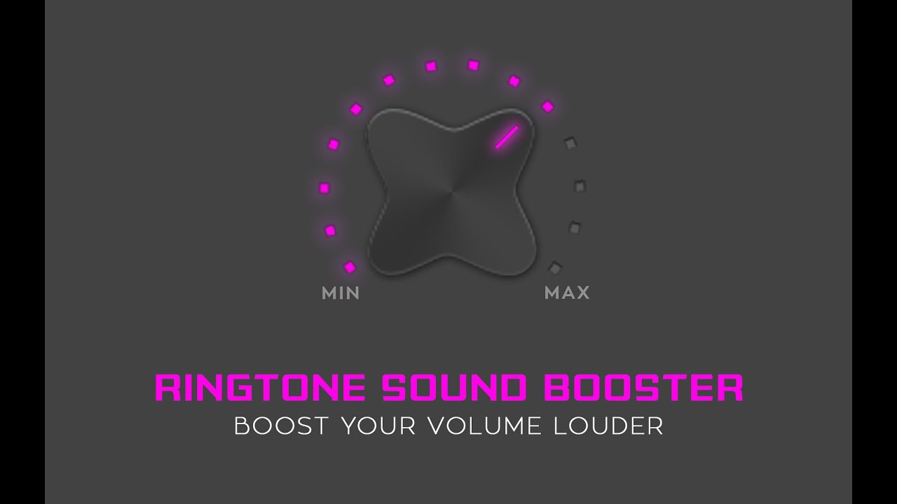 Ringtone Sound Booster