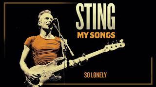 Sting - So Lonely (Audio)