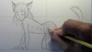 How to Draw a Cat Girl [HTD Video #5]