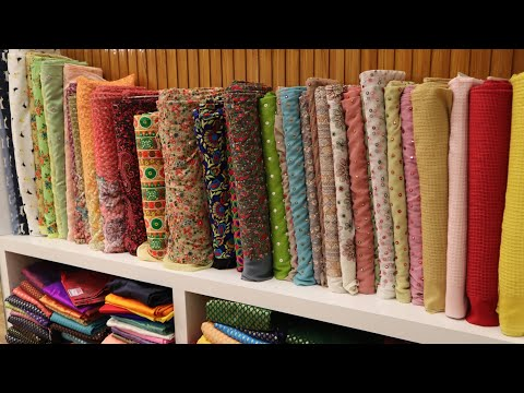 Surat Biggest Manufacturer of Embroidery or Plain Fabric , fancy collection FABRICS