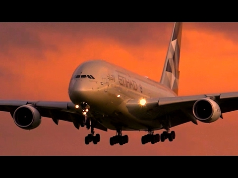 AWESOME Late Afternoon Heavy Aircraft Action ● Melbourne Airport Plane Spotting