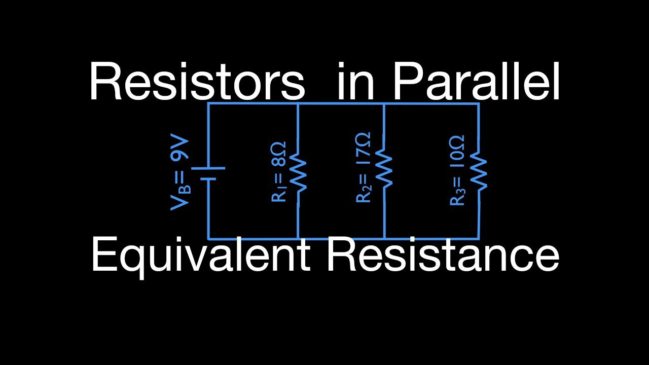 Resistors 11 Of In Parallel Calculating Equivalent Resistance These Switches Are A Circuit