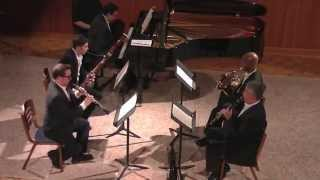 Beethoven Quintet for Piano and Winds op. 16 III .Rondo - Van Buen Winds
