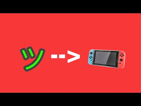 HOW TO GET A SLANTED SMILEY FACE ON NINTENDO SWITCH 2019