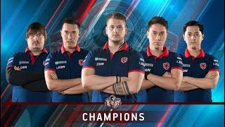 Путь к чемпионству Gambit на The Krakow Major