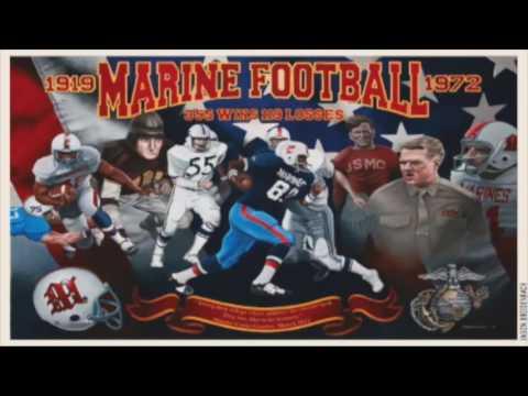 Former Marines Football Coach Donates Memorabilia to Museum