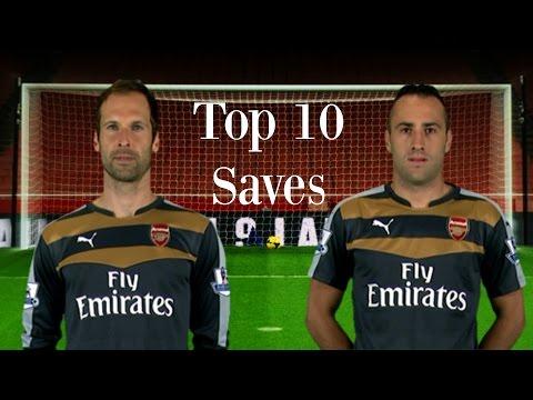 Petr Čech & David Ospina - Top 10 Saves 2015/16 [HD]