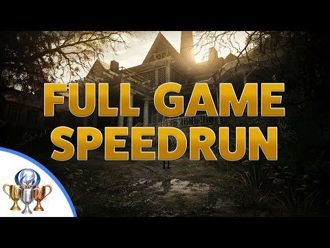 Resident Evil 7 Biohazard Speedrun - Full Game Walkthrough - Circular Saw & X-ray Glasses Reward
