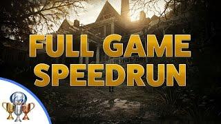 Resident Evil 7 Biohazard Speedrun - Full Game Walkthrough - Circular Saw & X-ray Glasses Reward