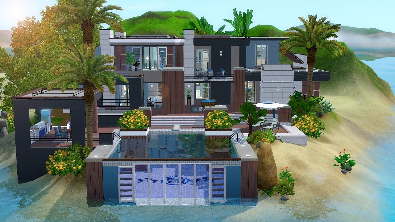 The sims 3 house building paradise getaway w julykapo for Beach house 3 free download