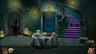halloween Horror House Rescue Walkthrough ABC Escape Games