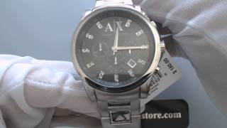 Mens Armani Exchange AX2092 Outer Banks Chronograph Watch YouTube Videos