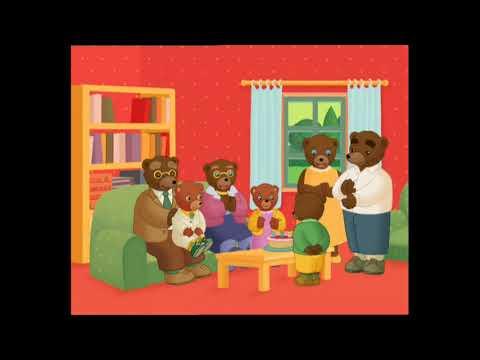 Petit ours brun l 39 anniversaire de petit ours brun youtube - Tchoupi l anniversaire de doudou ...