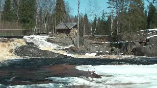 Карелия водопад - А зори здесь тихие