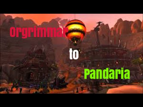 World Of Warcraft: How To Get To Pandaria From Orgrimmar