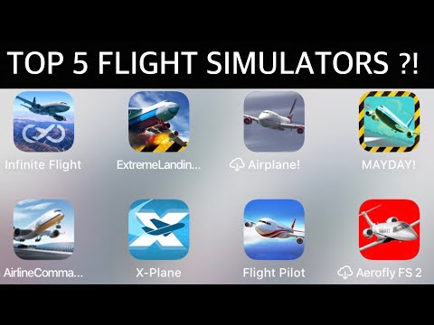 Top 5 BEST Flight SIMULATORS For Mobile