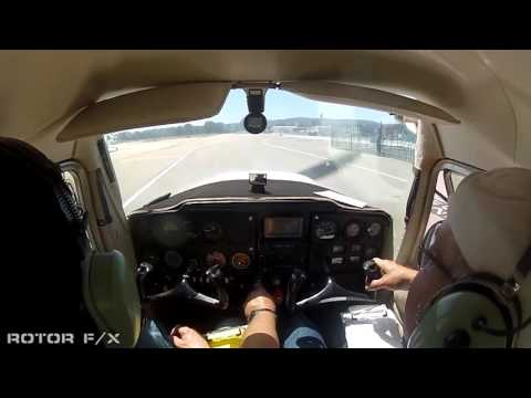 Michael Montana Discovery Airplane flight lesson at ROTOR F/X on April 17th, 2016