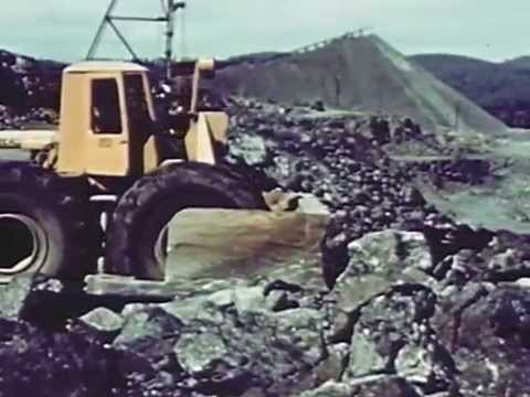 Mining and Milling Ore for Titanium Dioxide 1954 National Lead Company