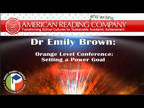 Irla Orange Level Conference: How to Set a Power Goal