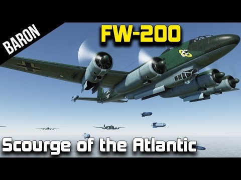 "The Prettiest Plane in War Thunder, the FW-200 Condor ""Scourge of the Atlantic"""