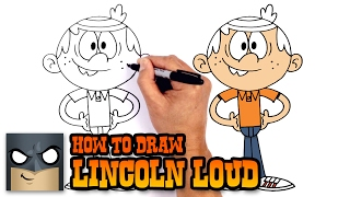 How to Draw Lincoln Loud | The Loud House